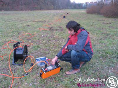 دستگاه اندازه گیری مقاومت ویژه و پتانسیل القایی (IP) مدل ARES ll