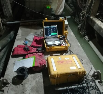 عملیات TSP در تونل انتقال آب بازی دراز