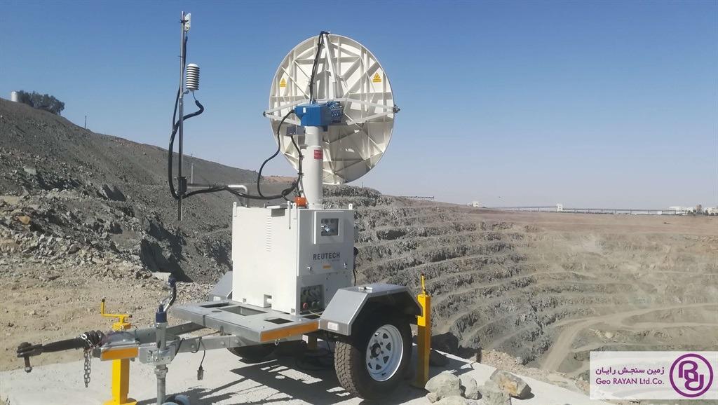 مانیتورینگ معدن چغارت با رادار MSR250