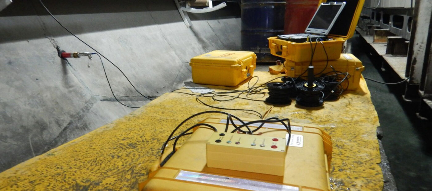 عملیات TSP در تونل انتقال آب نوسود