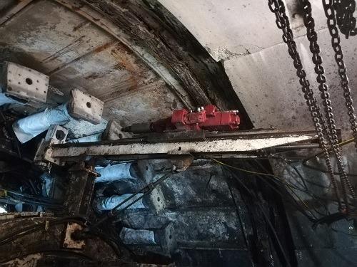 پراب دریل و تزریق در تونل